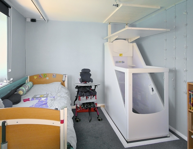 Wheelchair Lifts – Through-floor Lifts.